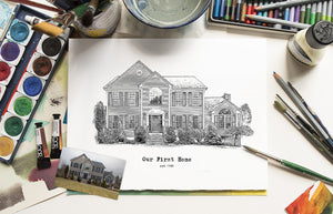 Sketch House illustration