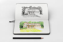 Load image into Gallery viewer, Custom home drawing