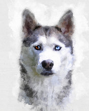 Load image into Gallery viewer, Dog Portrait Custom