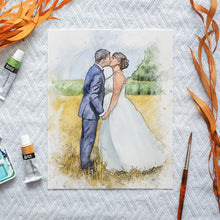 Load image into Gallery viewer, Custom Sketch Wedding Portrait