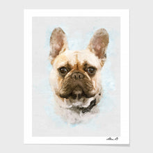Load image into Gallery viewer, Custom Dog portrait
