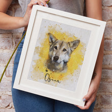 Load image into Gallery viewer, Dog Watercolour from photo