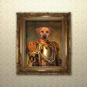 Renaissance Pet Portrait