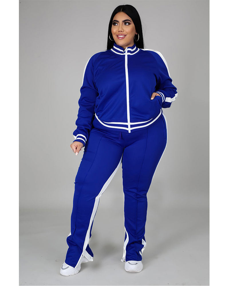 HOT SPORTS 2PC SET-plus size
