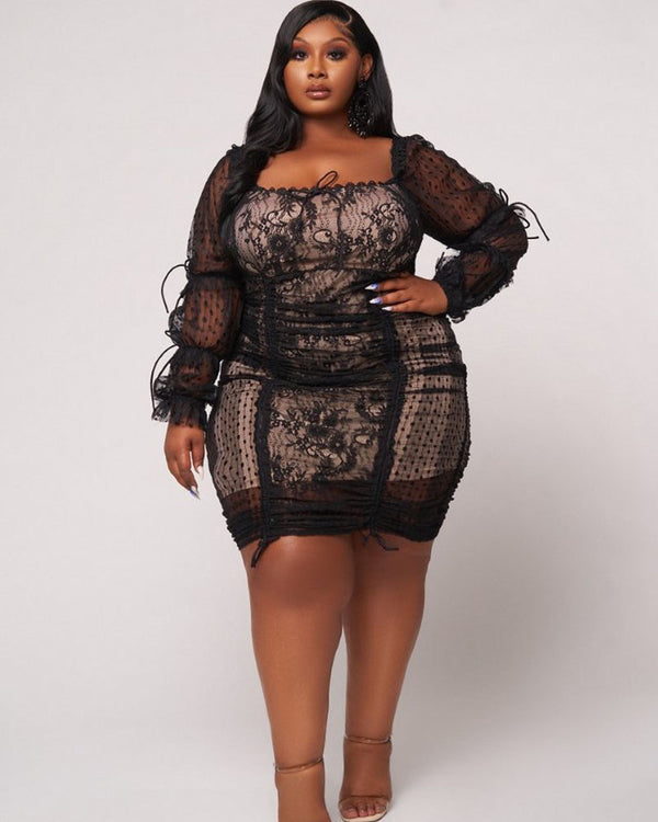 Sweet Seduction Lace Dress