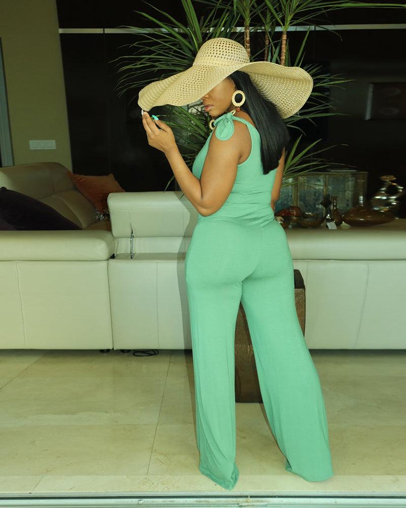 Fruit Green Jumpsuit
