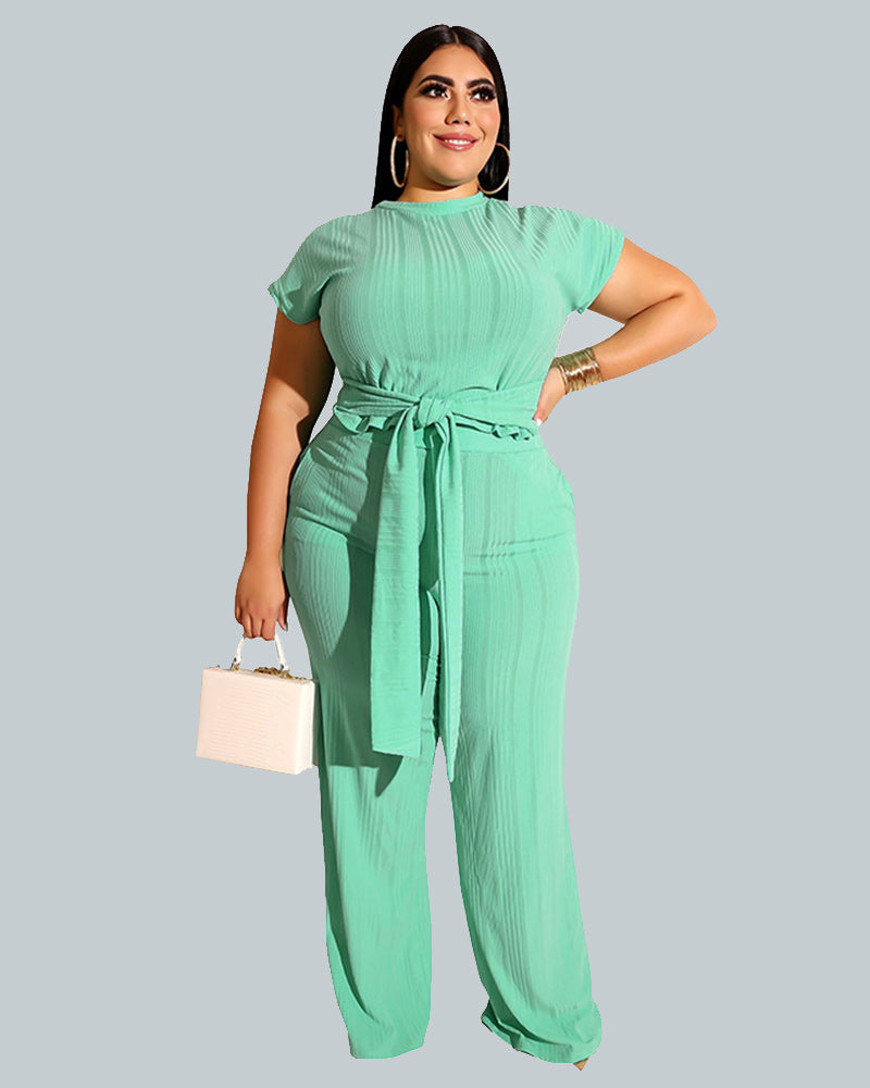 pure color plus size suit