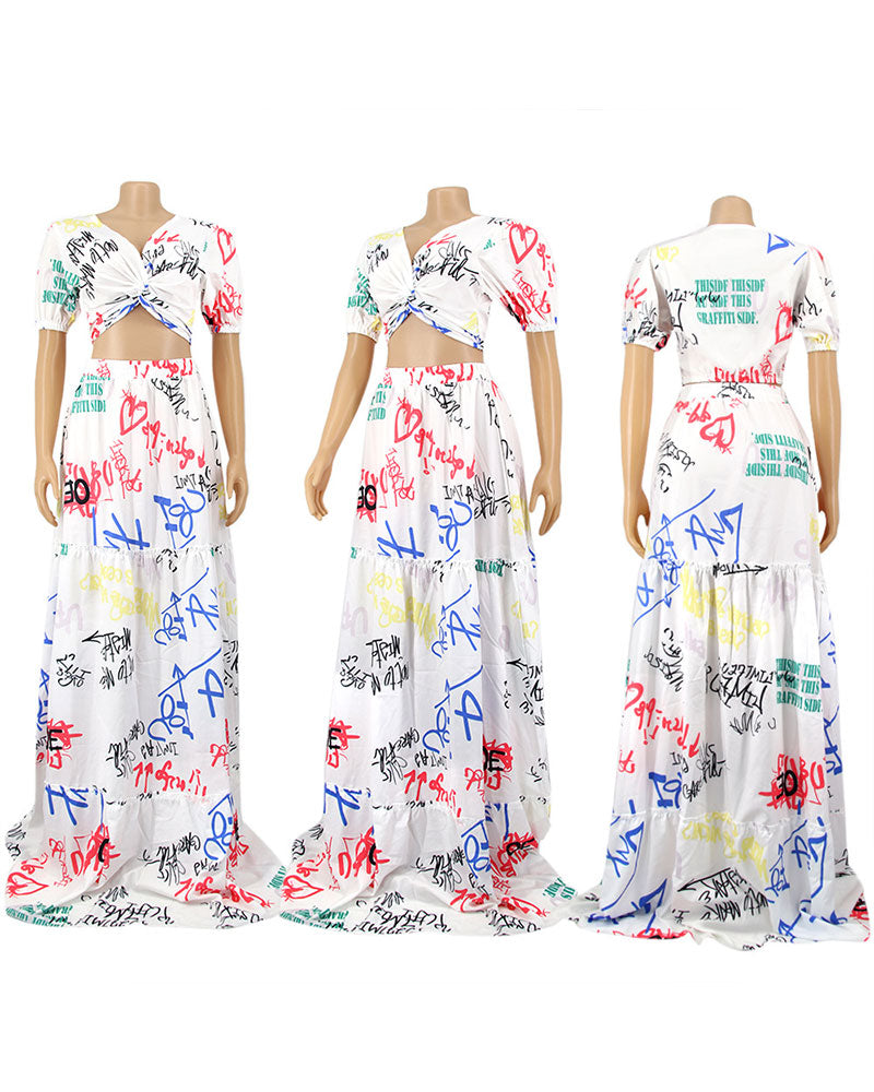 floral world 2pc set