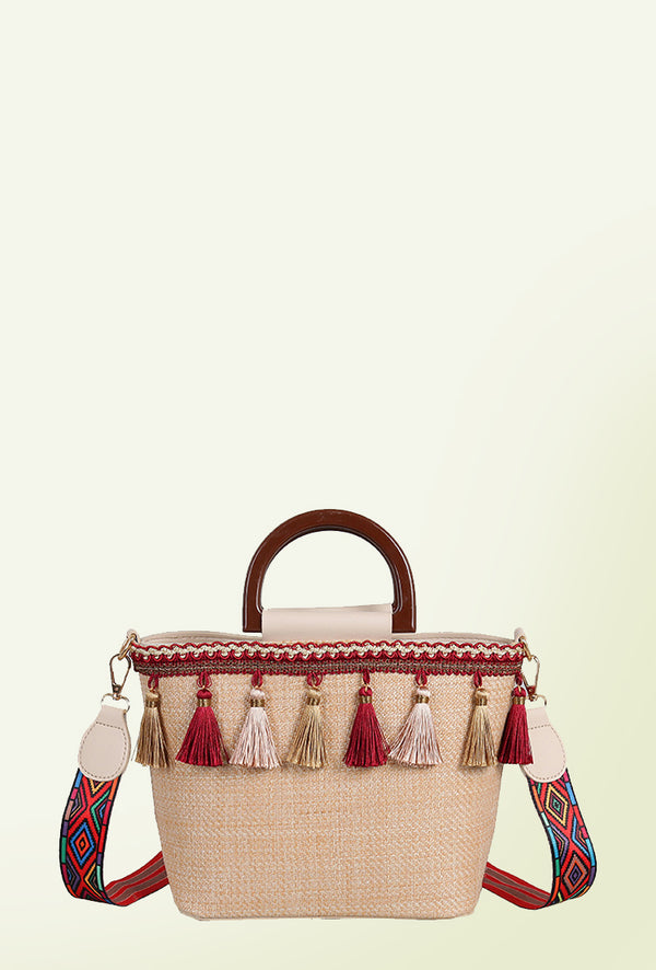 Most Of The Time Tassel Bag