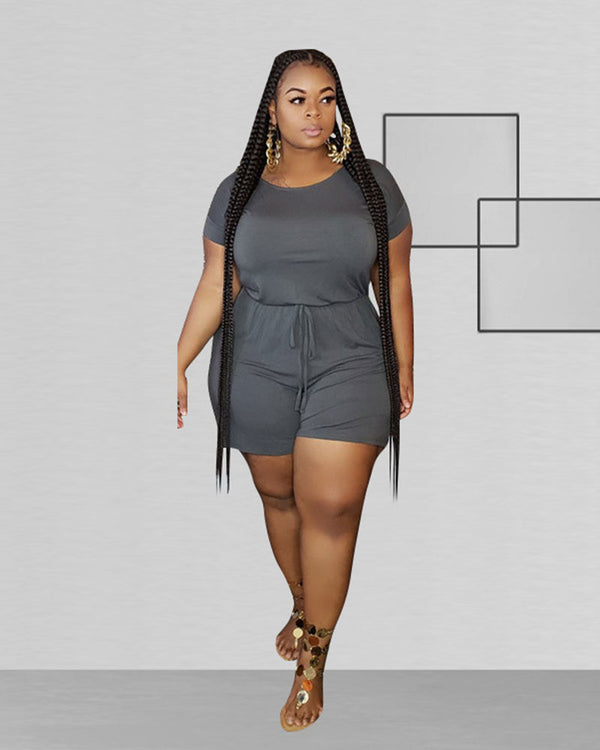 Expecting You Soon Plus Size Jumpsuit