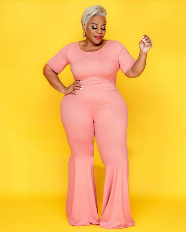 FLARE YOUR CURVES JUMPSUIT