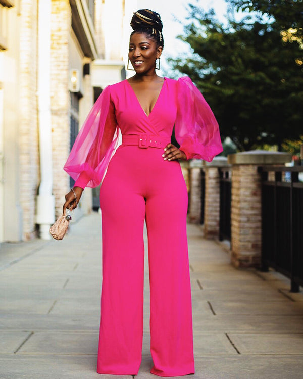 Rikky jumpsuit(Belt Included )
