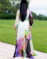 Let's fly away maxi dress