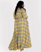 Love Goddess Shirt maxi dress