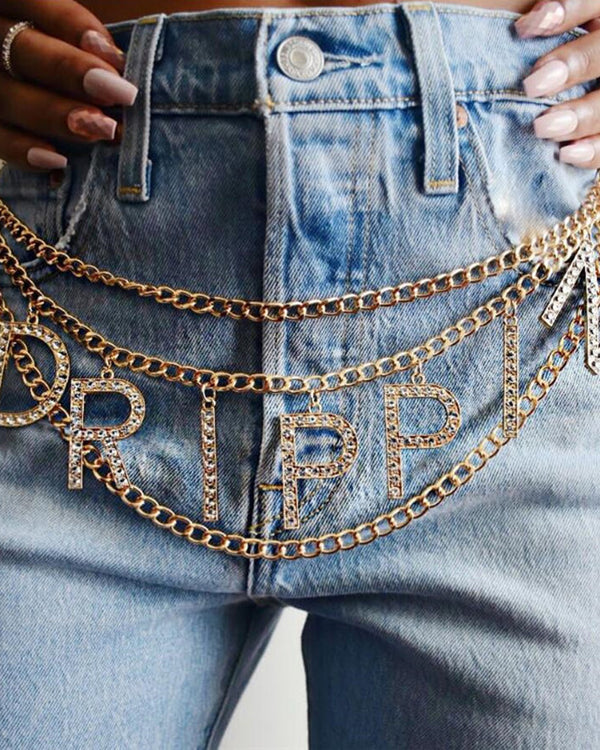 Drippin Chain Belt