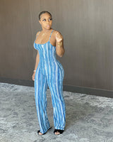 Brown Tone Jumpsuit