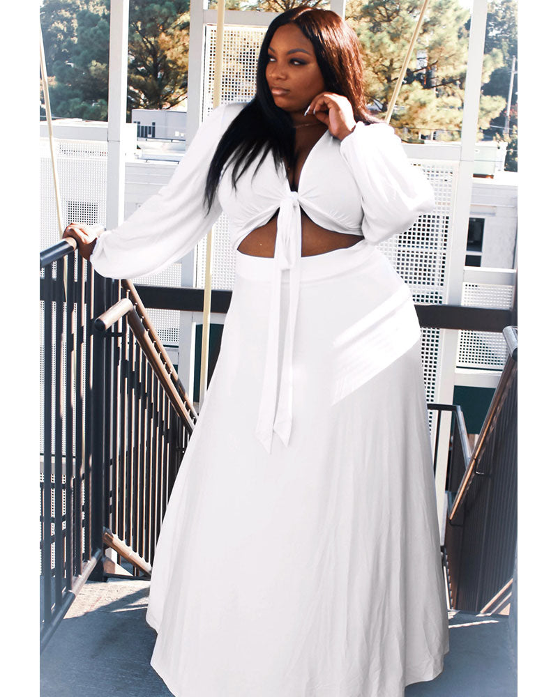 OVERSIZED TEE SKIRT SET