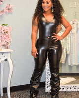 HALLE LEATHERETTE PANTS