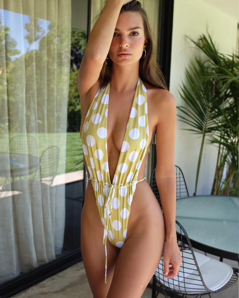 Catching Waves One Piece Swimsuit