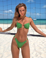 Rule The Pool Green Bikini