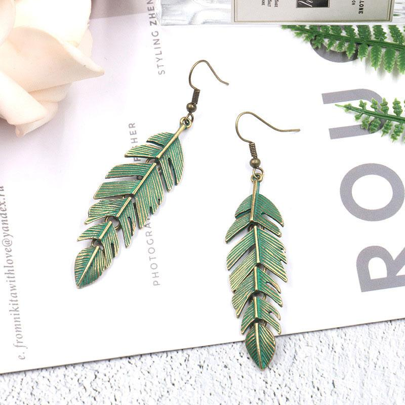 Don't You Leaf Me Earrings 1Pair