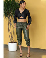 JAVA LEATHER PANTS