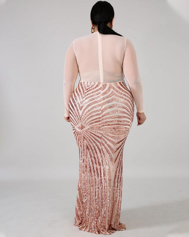 Plus Talk About Love Maxi Dress