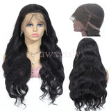 Flawlessly Virgin 13*4 Lace Wig - Body Wave.
