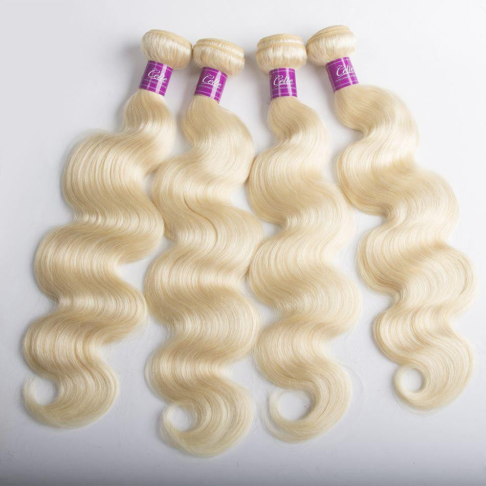 Flawless Fit Body Wave Hair Bundle Deal - Blonde.