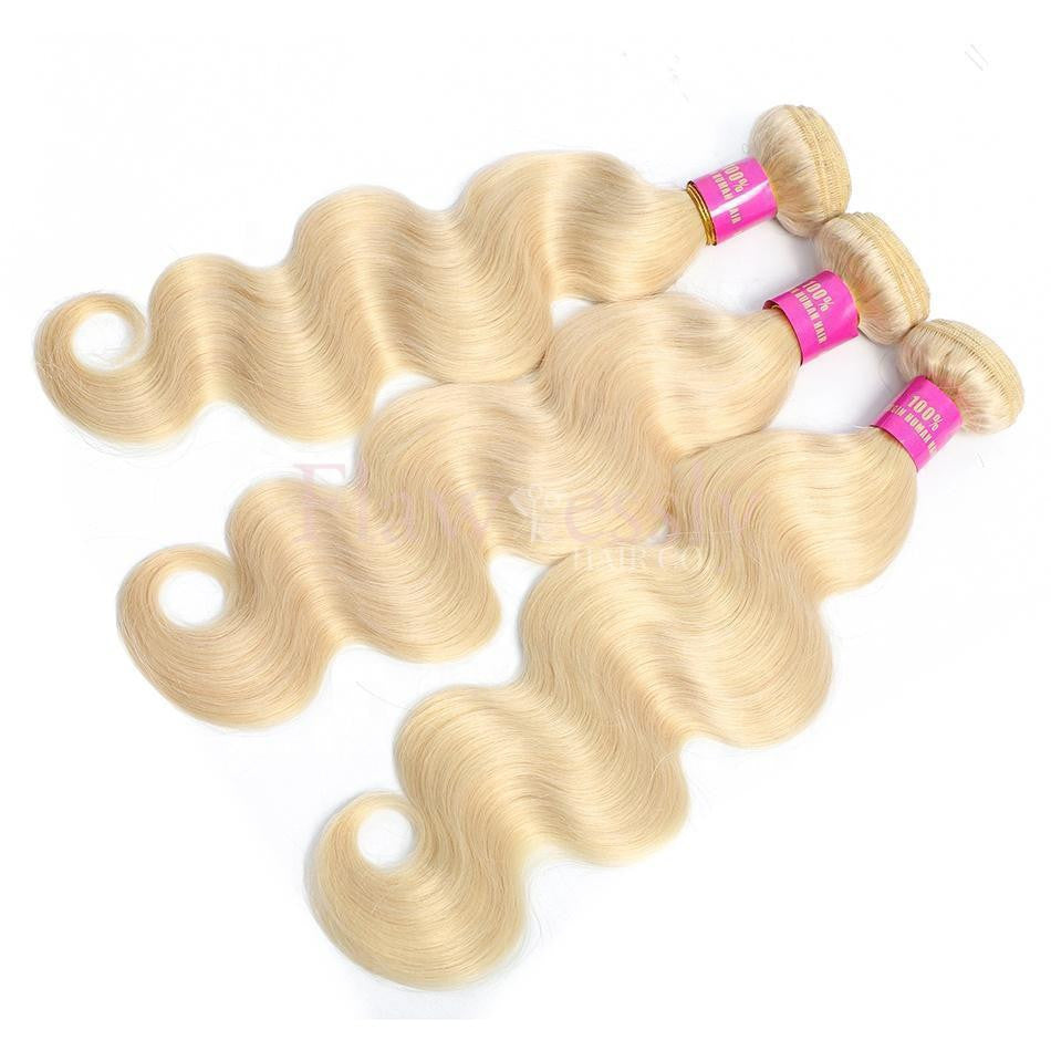 Pure 613 Blonde Remy Hair - Body Wave.