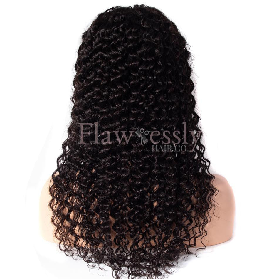 Flawlessly Virgin Lace Wig - Deep Wave.