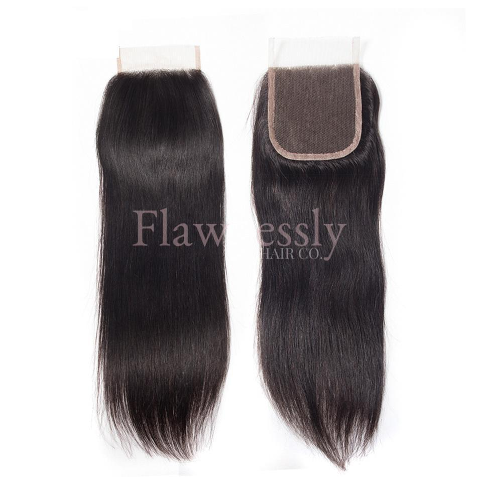 Lace Closure - Silky Straight.