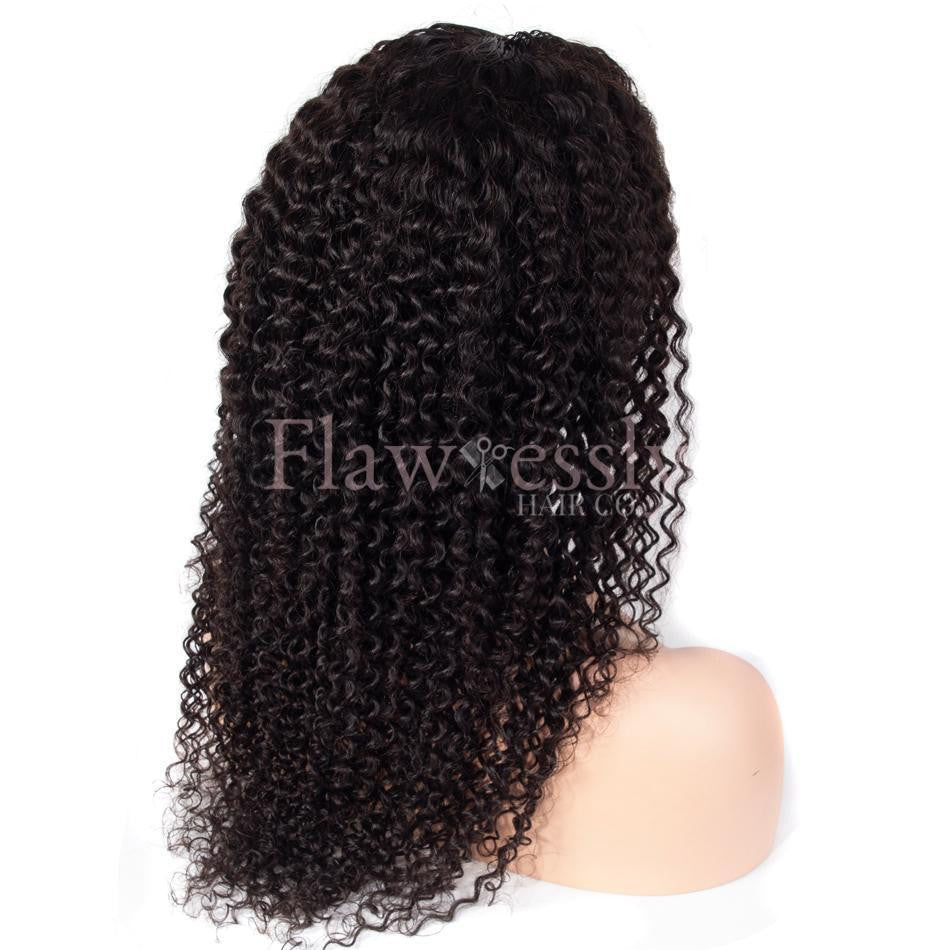 Flawlessly Virgin 360 Lace Wig - Naturally Curly.