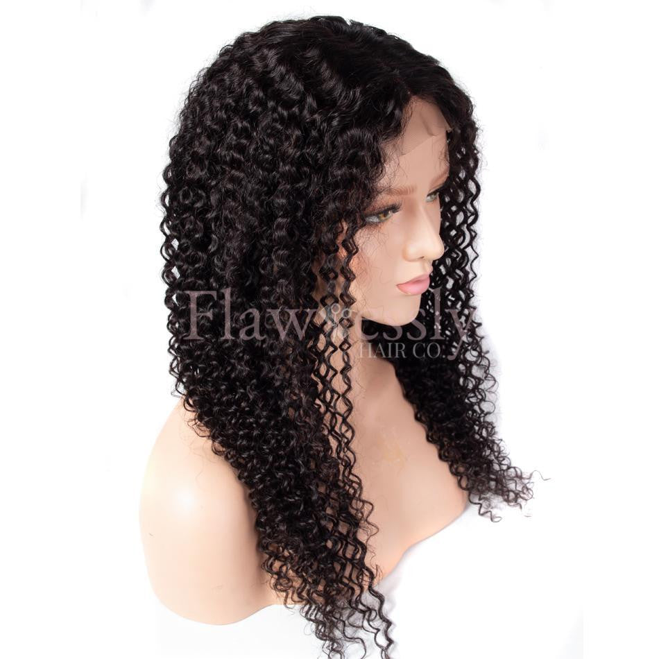 Flawlessly Virgin Full Lace Wig - Naturally Curly.