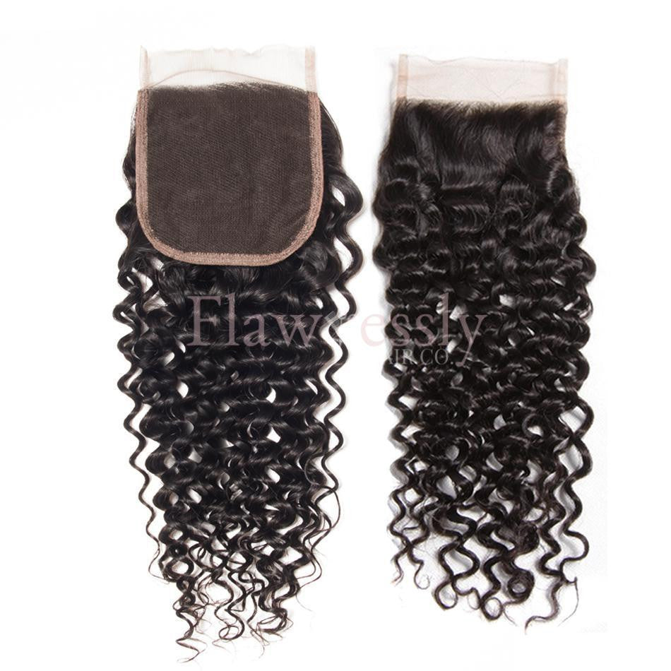 Lace Closure - Naturally Curly.