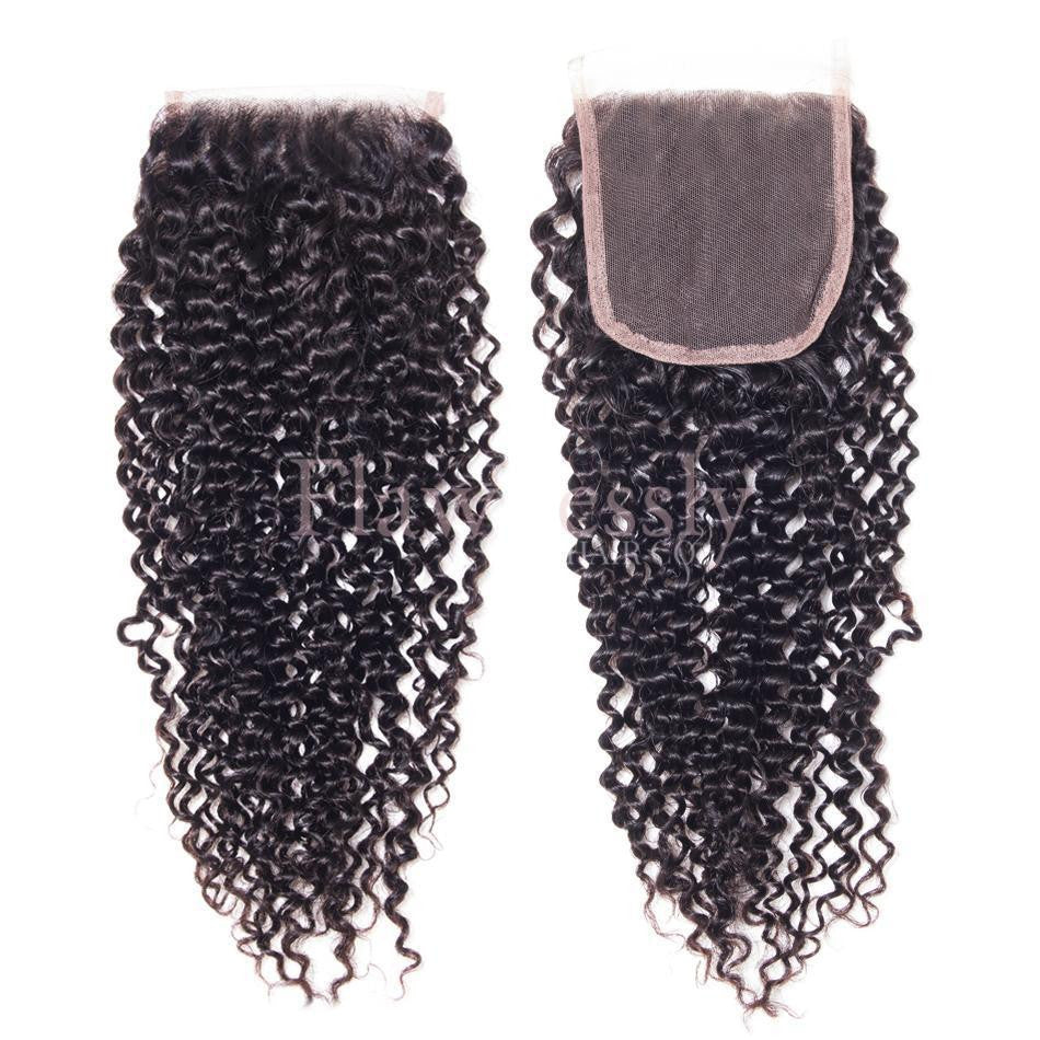 Lace Closure - Kinky Curly.
