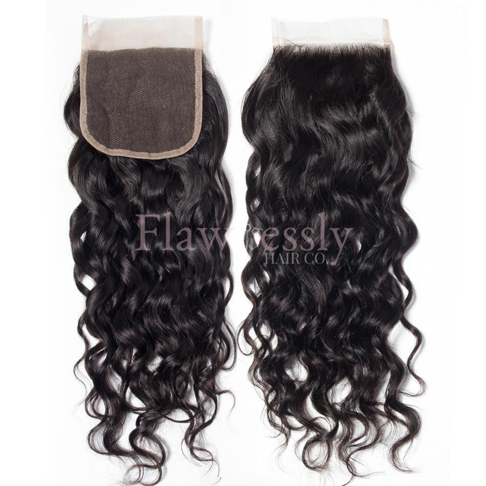 Lace Closure - Water Wave.