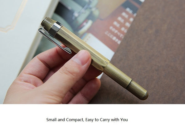 Vintage Brass Ink mini Pen