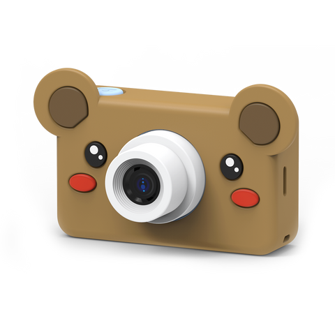 brown kids digital camera for boys