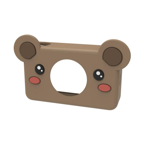 brown bear sleeve for digital kids camera