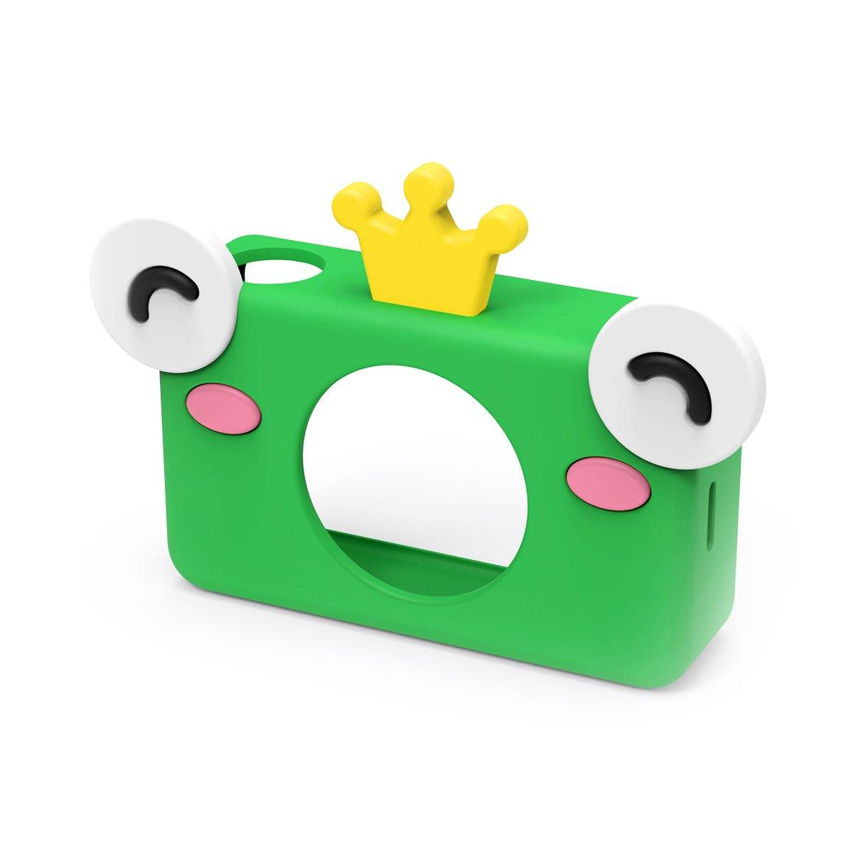 digital kids camera zoo collection prince frog sleeve