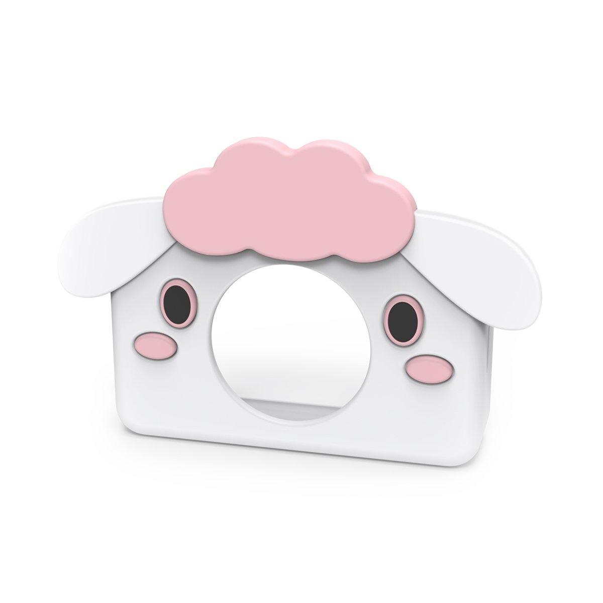 digital kids camera zoo collection sheep sleeve pink white