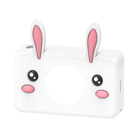 digital kids camera zoo collection rabbit sleeve