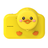 odalwalnut duck digital kids camera yellow lens protection cover