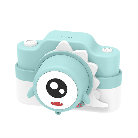 Mint green Dinosaur Kids camera