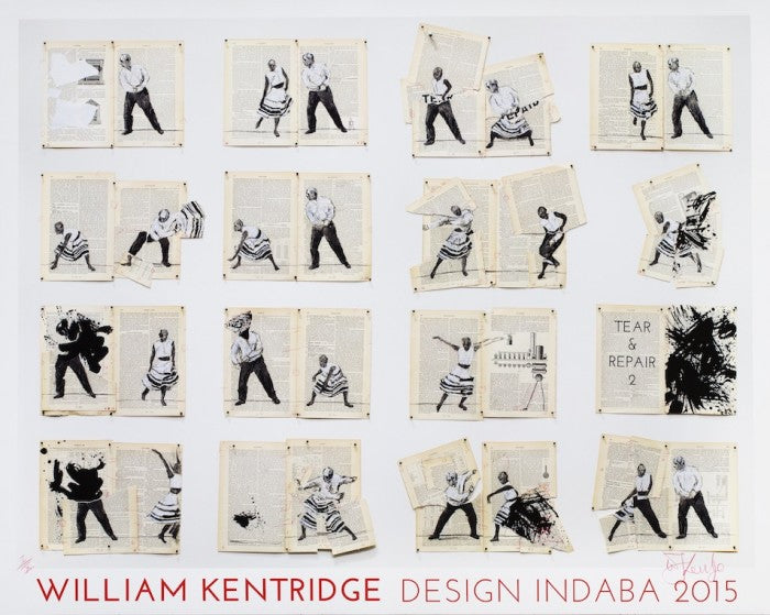 William Kentridge x Design Indaba Commemorative Print
