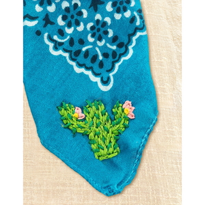 ~MADE TO ORDER | willie & cactus bandana~