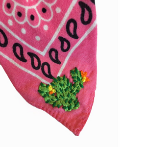 ~MADE TO ORDER | cowgirl bandana~