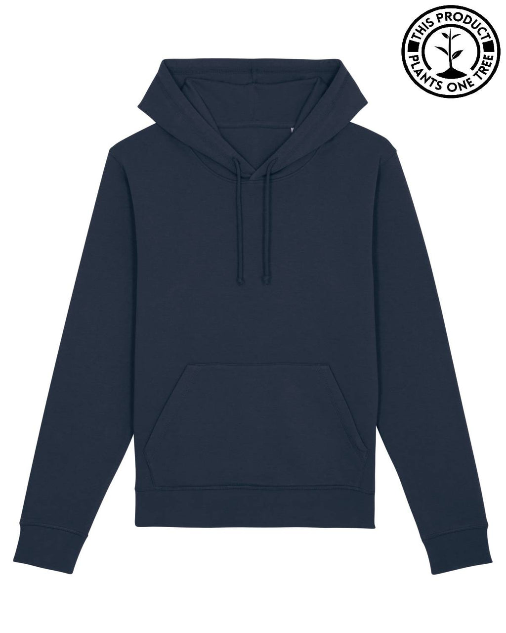 Basic Unisex Hoodie French Navy