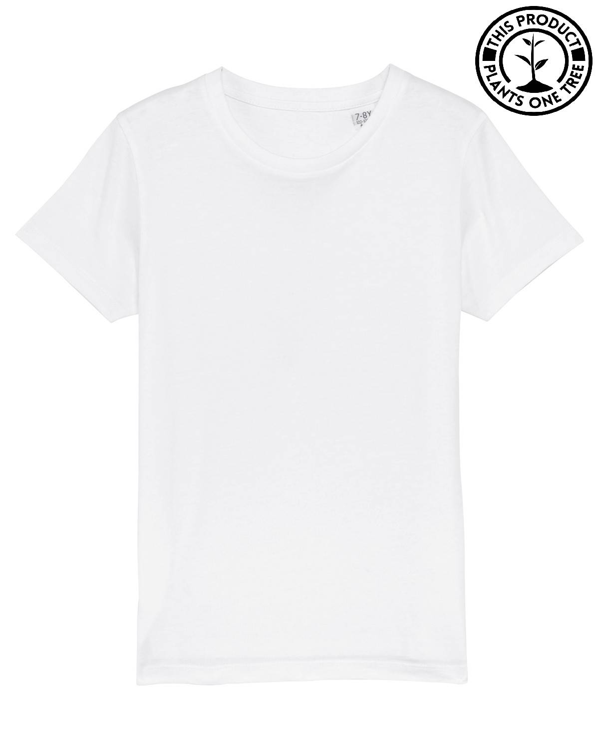Kids Basic Unisex T-shirt White